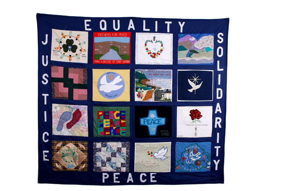'Northern Ireland Peace Quilt', by Women Together. (Photo: Colin Peck)