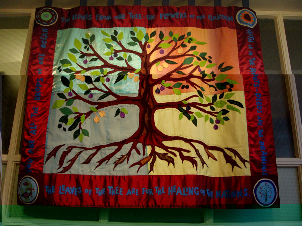 'The Tree of Life', by Women to Women for Peace. (Photo: Rory McCarron)