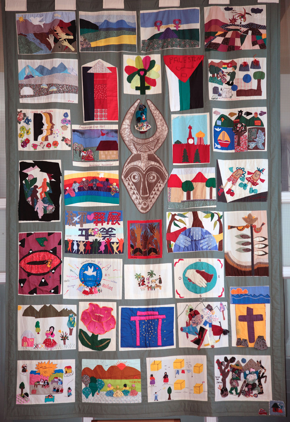 'A Quilt for the world', by Women in One World. (Photo: Martin Melaugh)