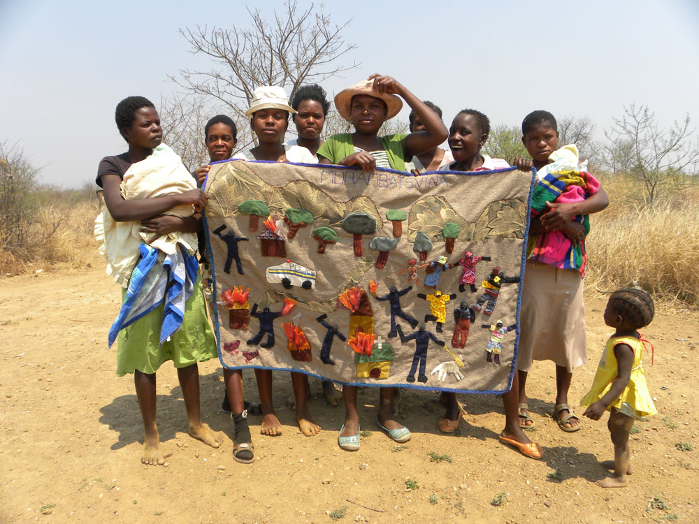 'The day we will never forget', Collective work by Killarney girls, facilitated by Shari Eppel, Solidarity Peace Trust Zimbabwe. (Photo: Shari Eppel)