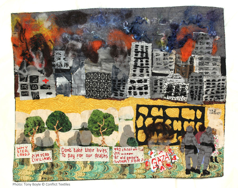 'Gaza', by Linda Adams. (Photo: Tony Boyle)
