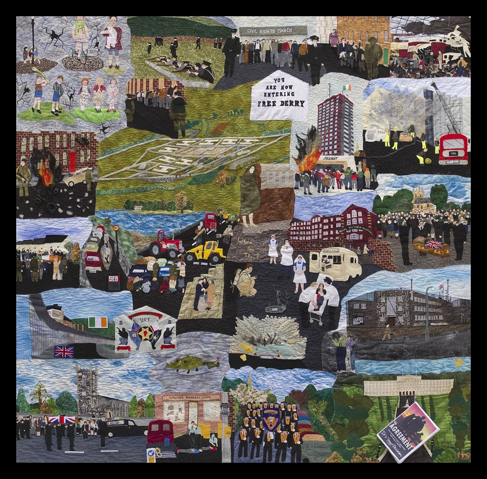 'Quilt of Remembrance', by WAVE trauma centre participants. (Photo: WAVE Archive)