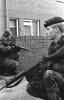 Photographs of the British Army in Belfast during 1986