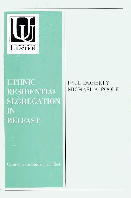 An introduction to the ethnic residential segregation