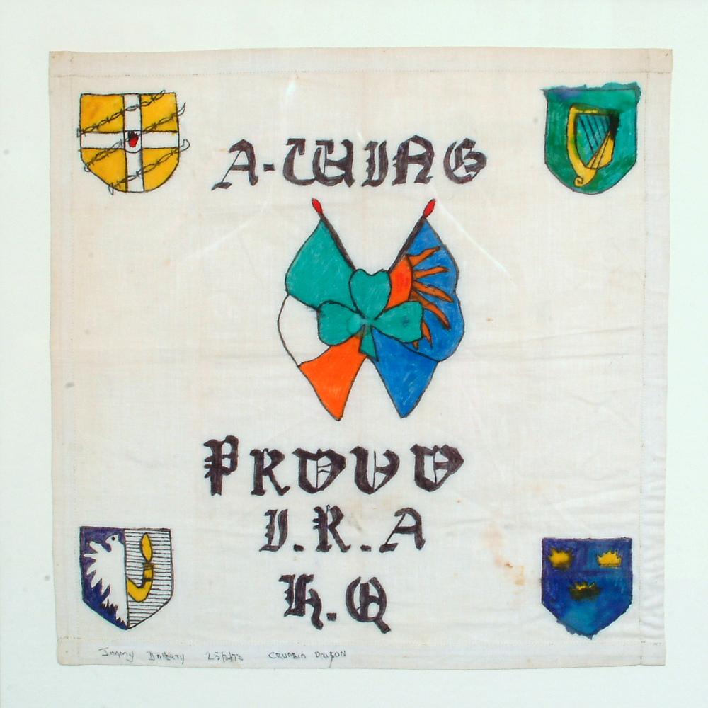 Irish Republican Army Posters Political handkerchiefs