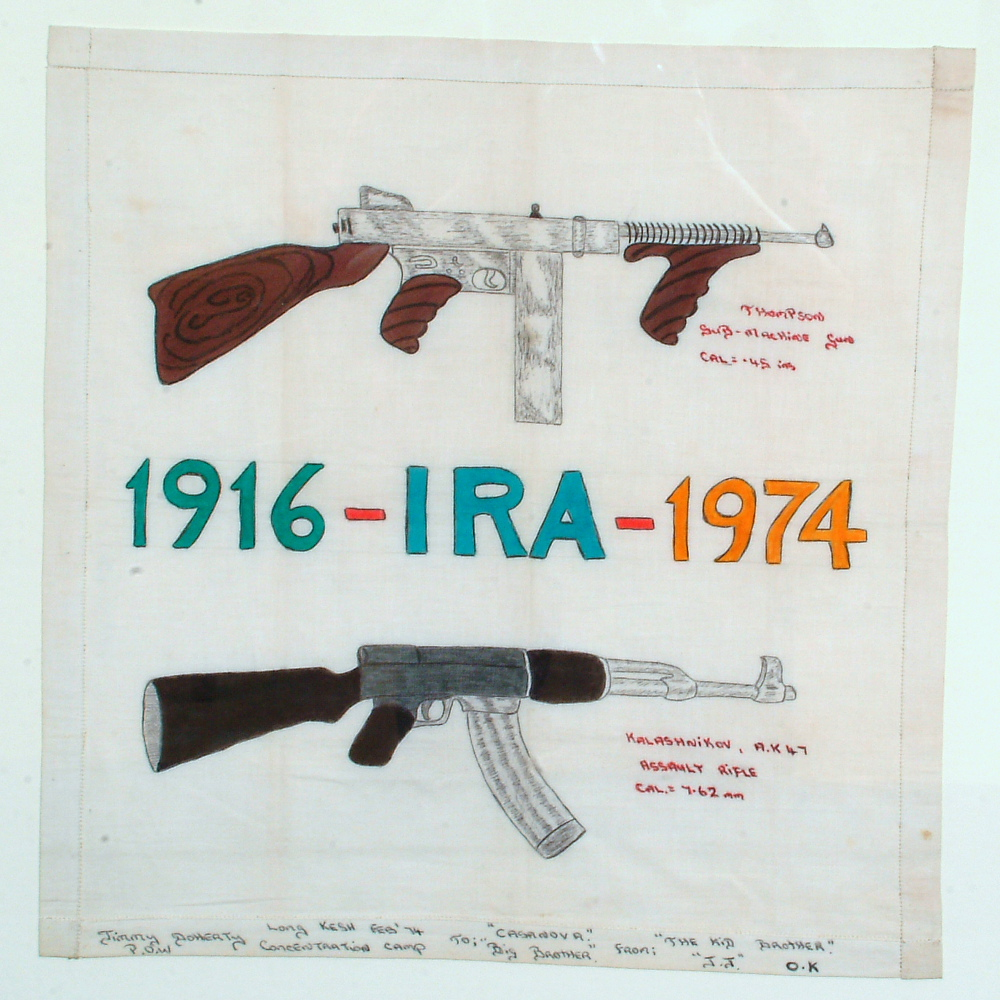 Irish Republican Army Posters Photo of handkerchief