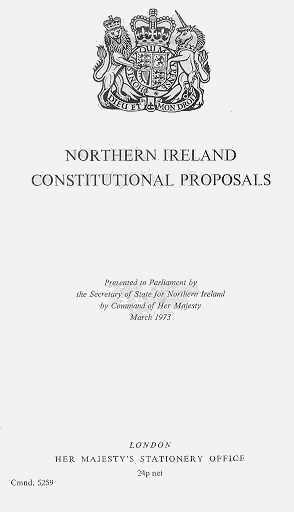 cain background essay on the northern ireland conflict
