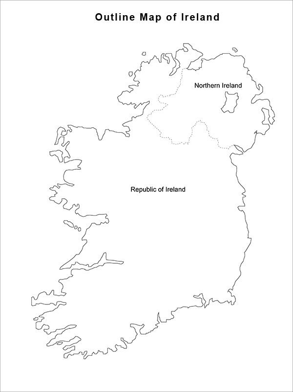 image relating to Printable Map of Uk and Ireland referred to as CAIN: Maps: Define Map of Eire; Northern Eire and
