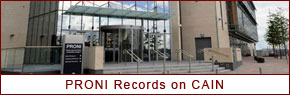 PRONI Records on CAIN, Launched on 6 October 2010