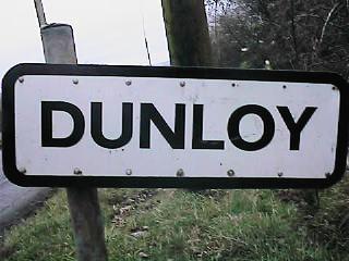 CAIN: Photograph - Dunloy, Road Sign