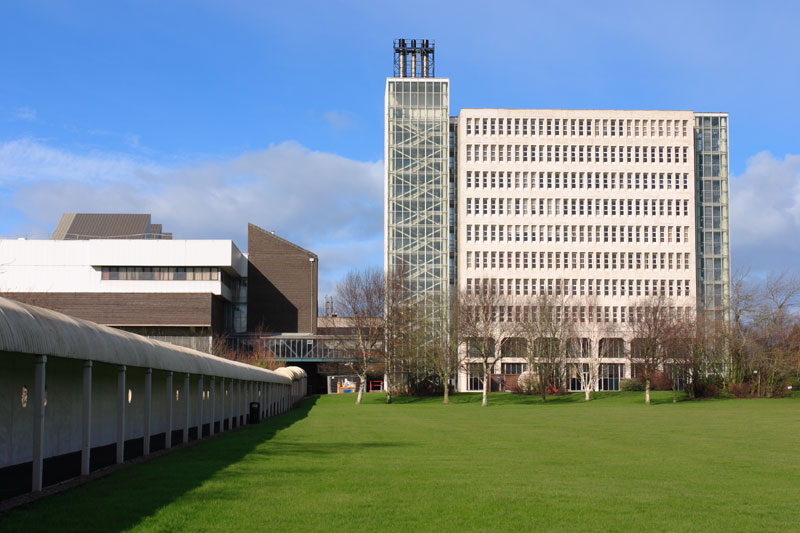 Central Building, Coleraine Campus, University of Ulster