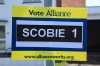 photograph of election poster