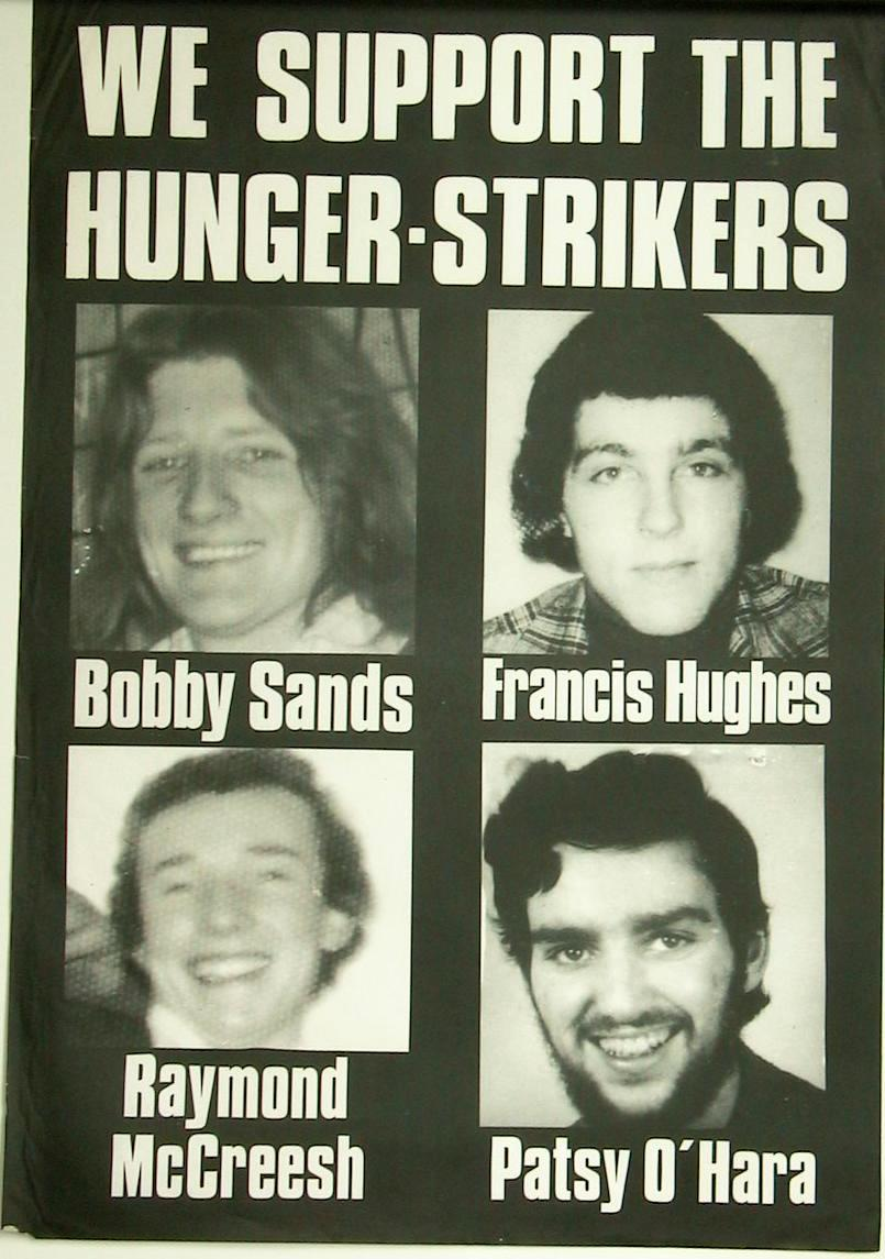 Cain Posters Examples Of Hunger Strike And Prisoners Campaign Posters