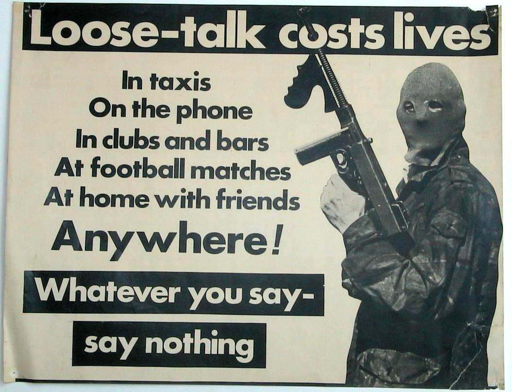 Irish Republican Army Posters Examples of ira posters
