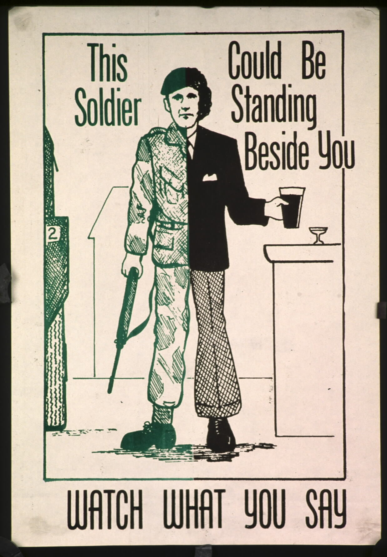 Irish Republican Army Posters Description: a poster produced
