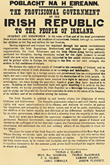Image of Irish Proclaimation document