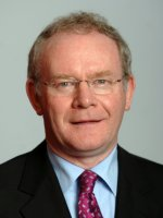 photograph  of Martin McGuinness