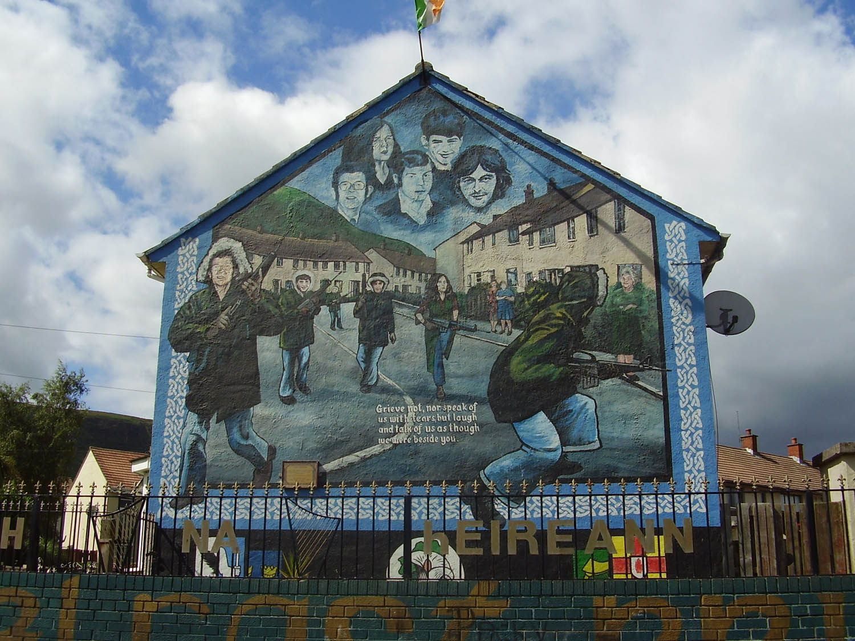 Real Irish Republican Army Symbol - ma